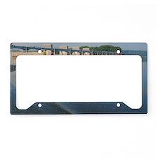 Lock  Dam 13 License Plate Holder
