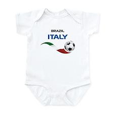 Soccer 2014 ITALY Infant Bodysuit