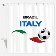 Soccer 2014 ITALY Shower Curtain