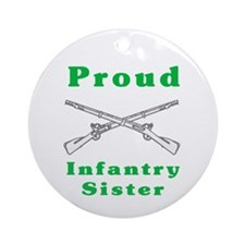 infrantry sister Ornament (Round)