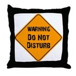 Take Heed of This Throw Pillow