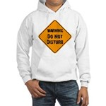 Take Heed of This Hooded Sweatshirt