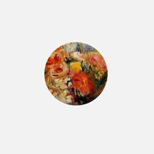 Renoir - Flower Study, Pierre-August R Mini Button