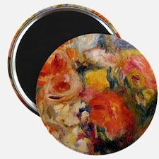 Renoir - Flower Study, Pierre-August Renoir Magnet