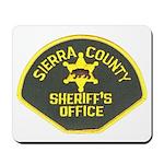 Sierra County Sheriff Mousepad