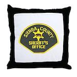 Sierra County Sheriff Throw Pillow