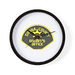 Sierra County Sheriff Wall Clock