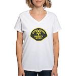 Sierra County Sheriff Women's V-Neck T-Shirt