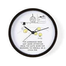 Chick Pea Wall Clock