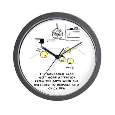 Chick Pea Wall Clock
