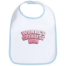 World's Greatest Mom Bib