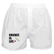 Cricket Is Life Boxer Shorts