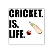 Cricket Is Life Sticker