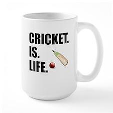 Cricket Is Life Mugs