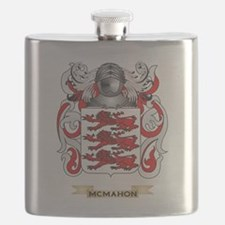 McMahon Coat of Arms - Family Crest Flask