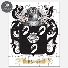 Mc-Micheal Coat of Arms - Family Crest Puzzle