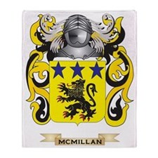 McMillan Coat of Arms - Family Crest Throw Blanket