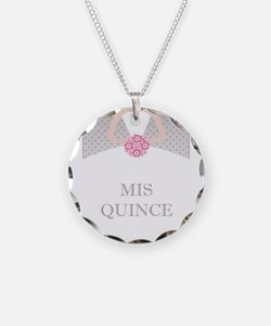 Lovely Quinceanera Motif Necklace