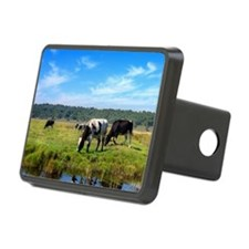 Beautiful Cow Landscape Hitch Cover