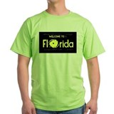 Welcome to florida Green T-Shirt