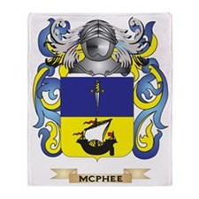 McPhee Coat of Arms - Family Crest Throw Blanket