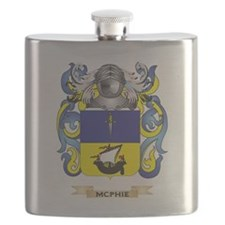 McPhie Coat of Arms - Family Crest Flask