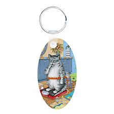 Cat 579 Keychains