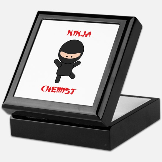 Ninja Chemist Keepsake Box