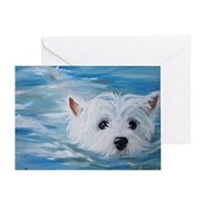 swimmer! Greeting Card