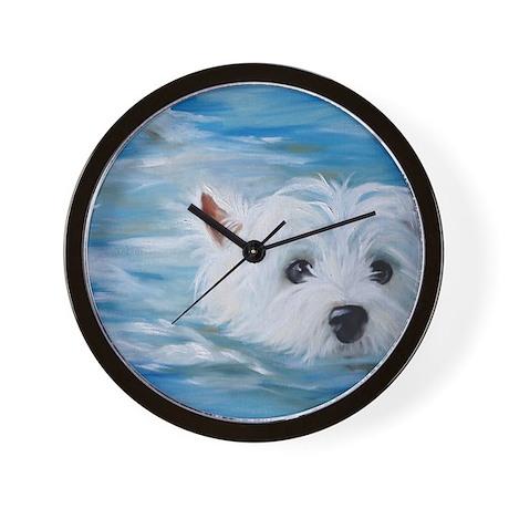 swimmer! Wall Clock