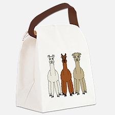 alpaca - no text Canvas Lunch Bag