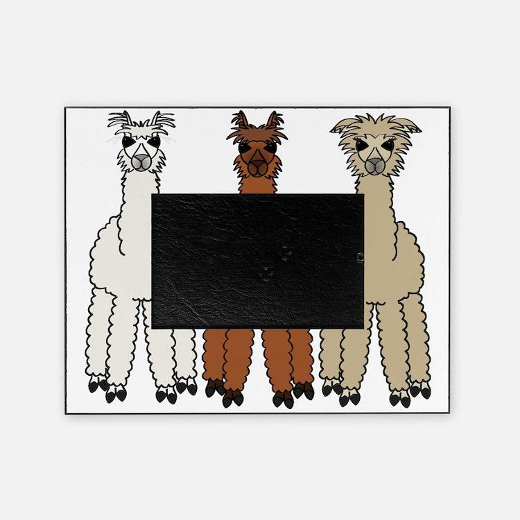 alpaca - no text Picture Frame