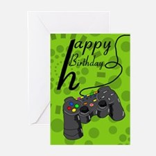 Console Game Controller Greeting Cards (Pk Of 10)