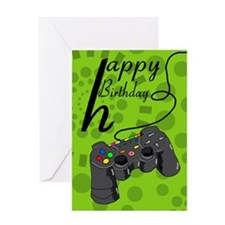 Birthday Greeting Card Game Controller