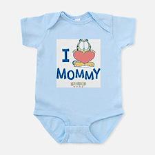 Baby GARFIELD, Heart Mommy, Onesie