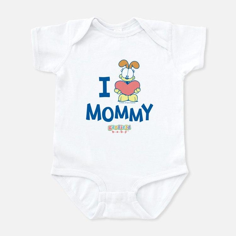Baby ODIE, Heart Mommy, Infant Bodysuit