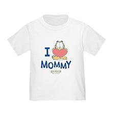 Baby GARFIELD, Heart Mommy, T