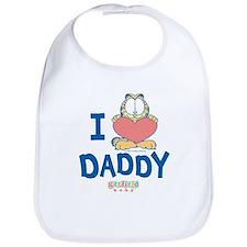 "Baby Garfield ""Heart Daddy"" Bib"