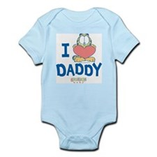 "Baby Garfield ""Heart Daddy"" Infant Bodysuit"