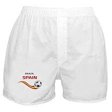 Soccer 2014 SPAIN Boxer Shorts