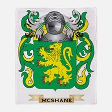 McShane Coat of Arms - Family Crest Throw Blanket