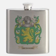 McShane Coat of Arms - Family Crest Flask