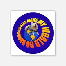 American Eskimo Dog Sticker