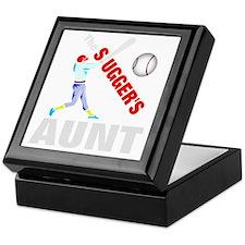 Baseball players aunt Keepsake Box