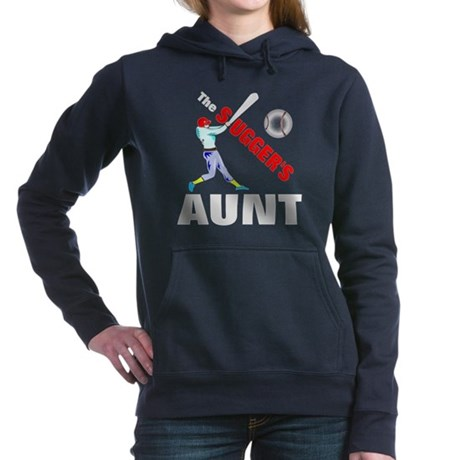 Baseball players aunt Hooded Sweatshirt