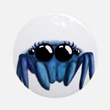cute Jumping spider Round Ornament