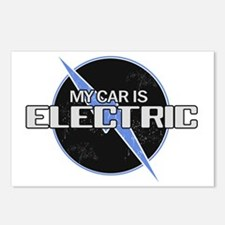 My Car Is Electric 2 Postcards (Package of 8)