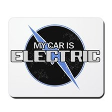 My Car Is Electric 2 Mousepad