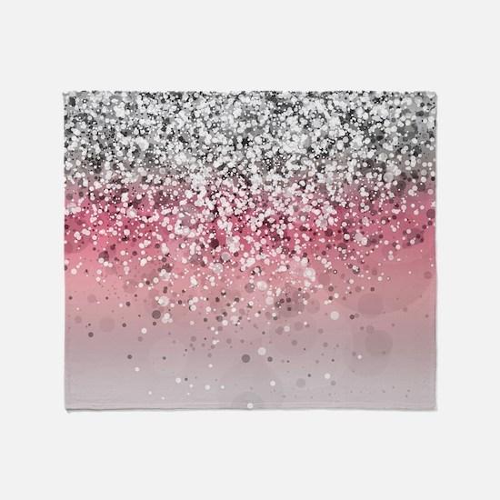 Glitteresques X Throw Blanket