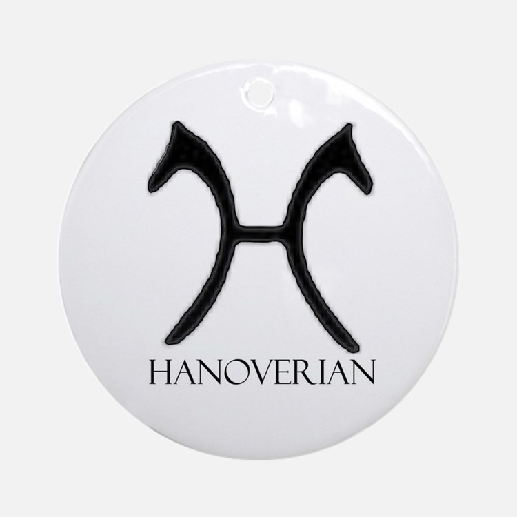Hanoverian Ornament (Round)